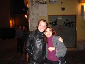 Con Sergio Castro